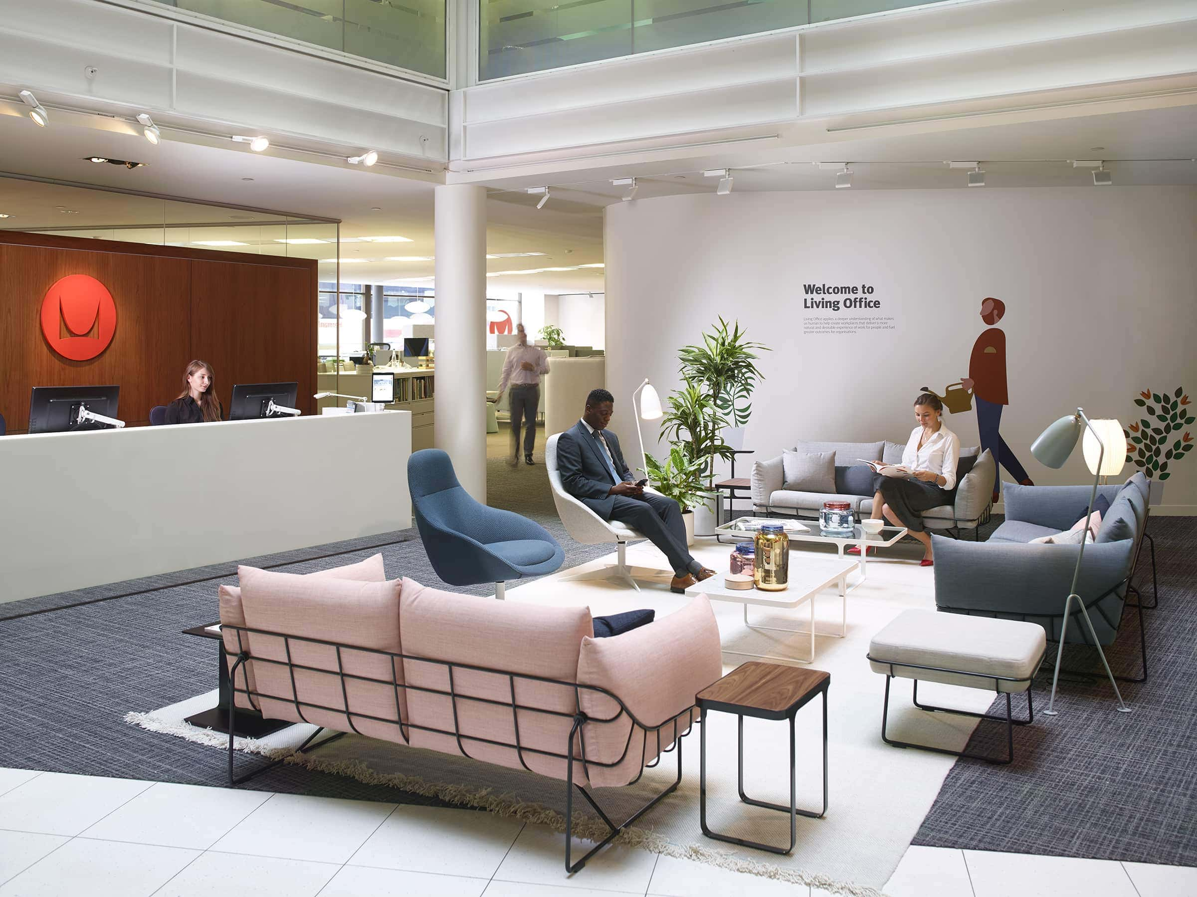 Herman Miller Have Rebooted Their London Showroom Basing Every Setting  Around Their Living Office Concept. Each Different Haven, Hive, Plaza Or  Workshop Is ...