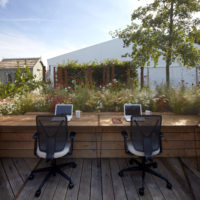 A leafy break from the norm – Anca Panait's 'Prospect & Refuge' garden office design