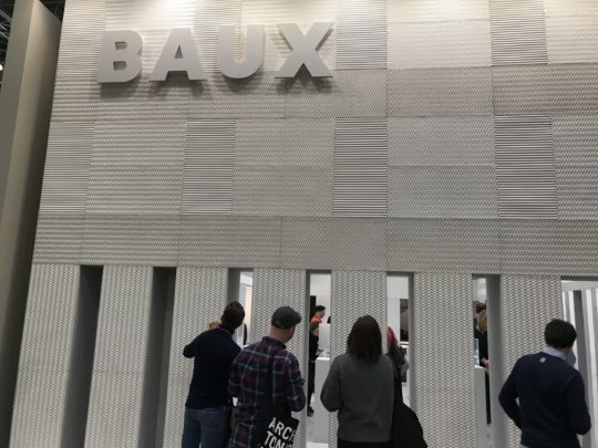 Baux Stand at the Stockholm Furniture Fair 2019