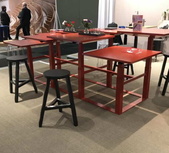 Stockholm Furniture Fair Table Heights