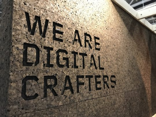 """We are Digital Crafters"" The Greenhouse Stockholm Furniture Fair 2019"
