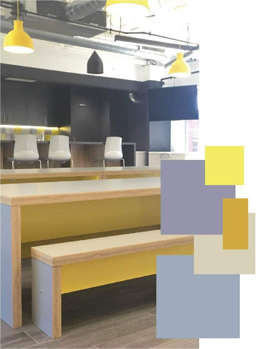 How To Use S S 2021 Colour Trends In Office Interiors Tsunami Axis