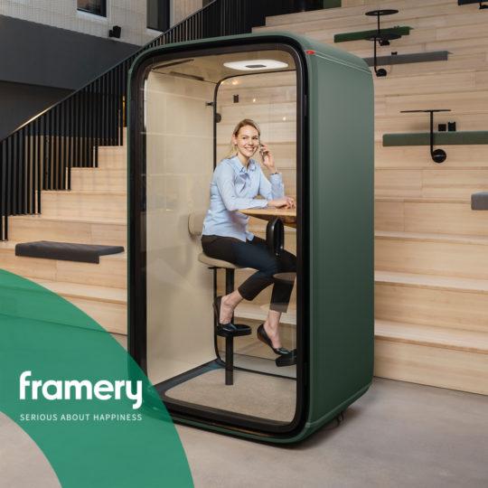 Framery One. The latest soundproof pod.