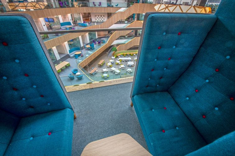 Interserve Birmingham Office Loose Furniture Setting
