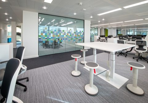 Interserve Birmingham Office Meeting Space