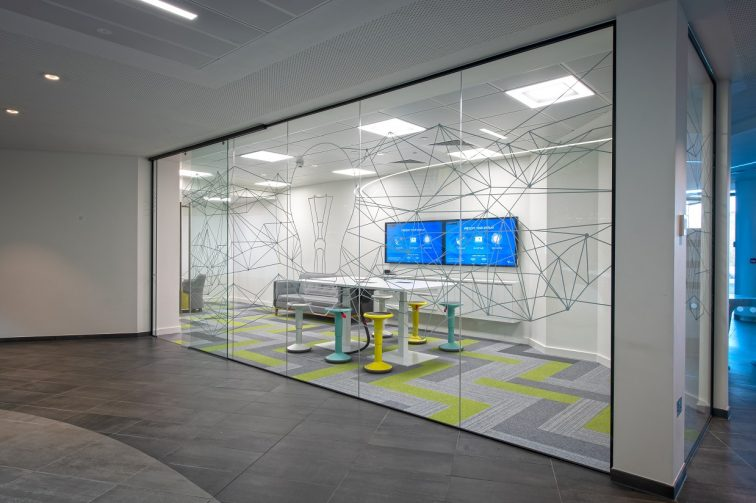 Interserve Birmingham Office Meeting Room