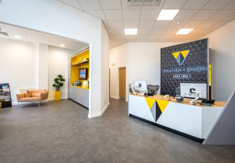 Willmott Dixon Office Interior