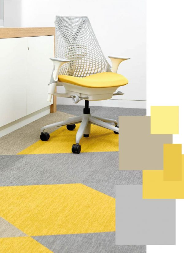 Case Study Colour Trend 2021 Palettes Lemon Sherbert Office Interior