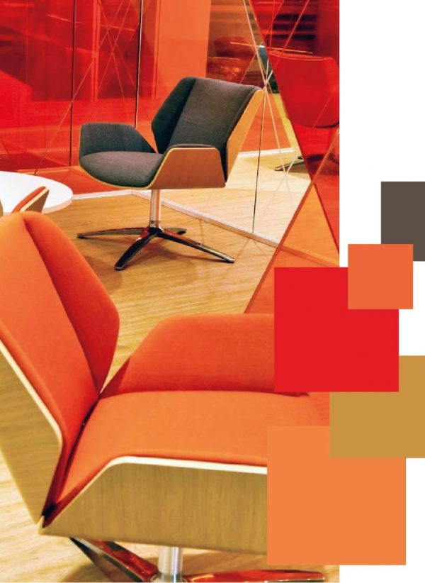 Case Study Colour Trend 2021 Palettes Oxy Fire Office Interior