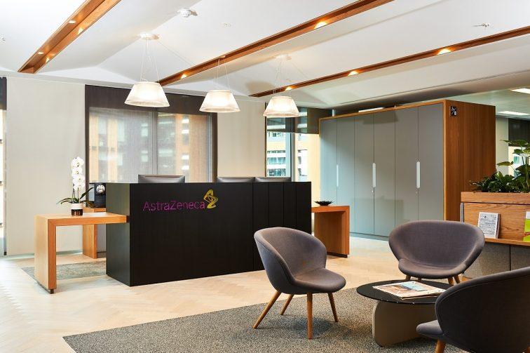 Astra Zeneca PS2 Ofiice Interior Aug 2019