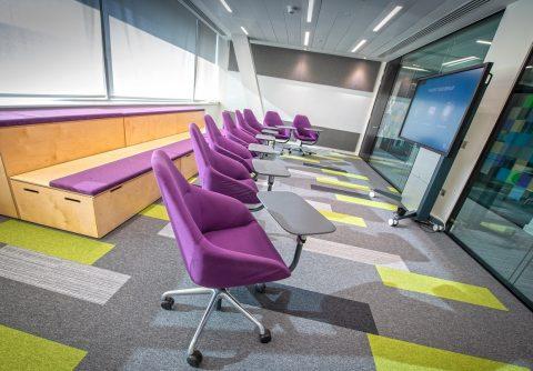 Interserve Birmingham Office Presentation Room